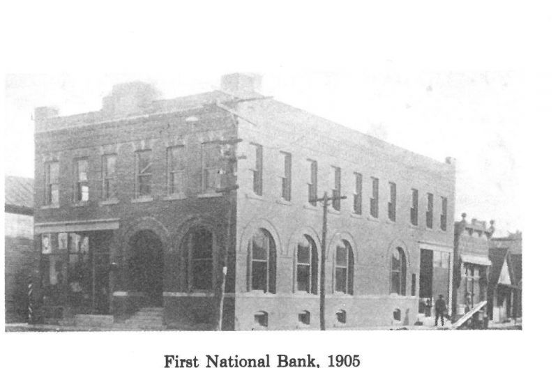 First National Bank Circa 1905-1977