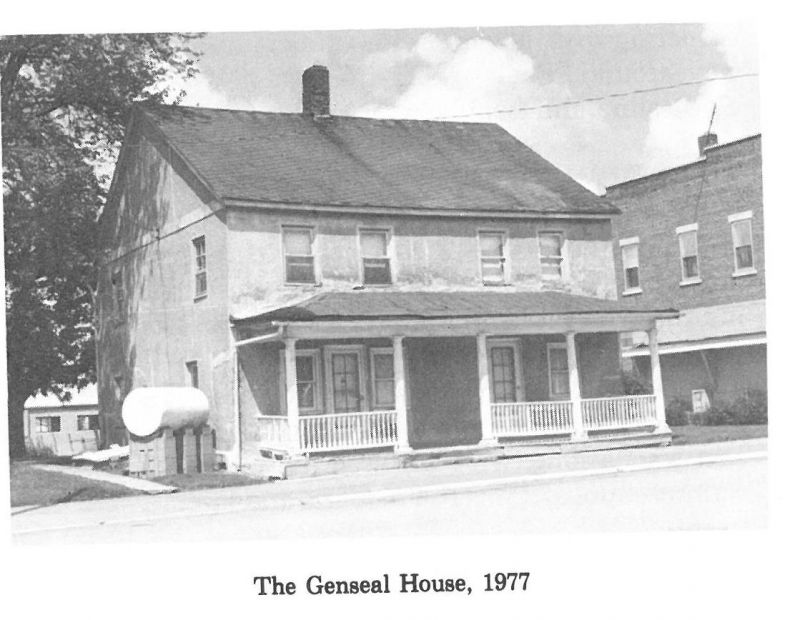 Mackinaw Inn Built 1827 Later Known as the Genseal House